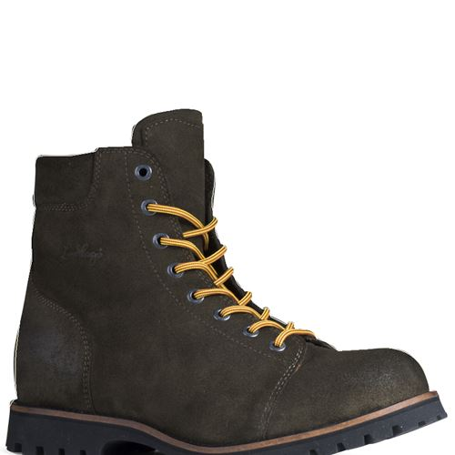 Logger Suede Boot Tea Green