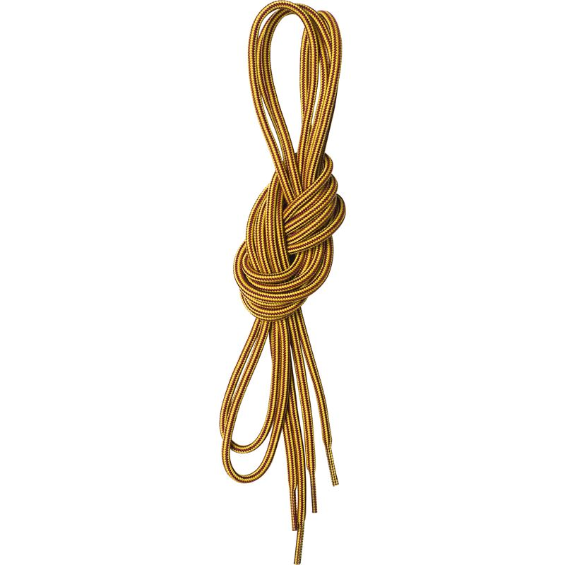 Round Shoe Laces 160cm Yellow/Brown