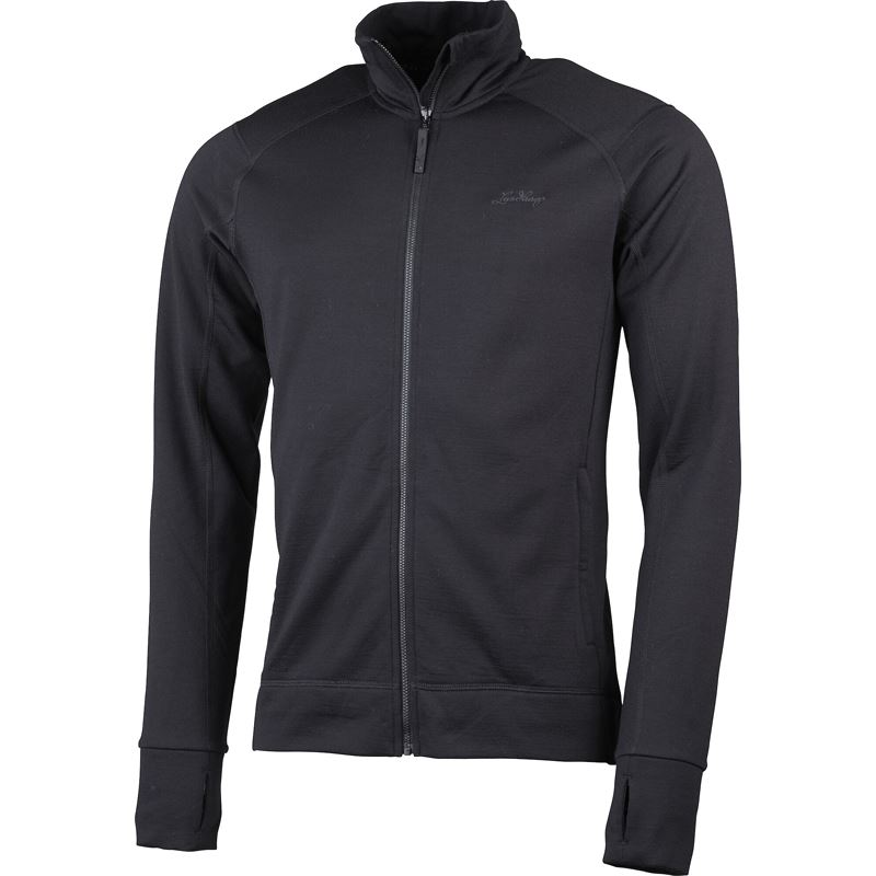 Ullto Merino Ms Full Zip Black