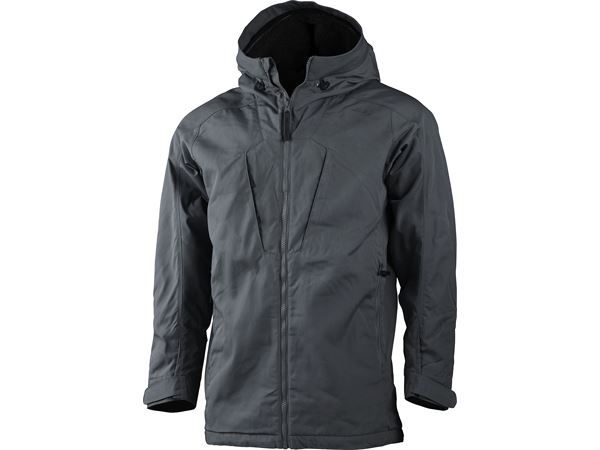 Habe Pile Ms Jacket Charcoal