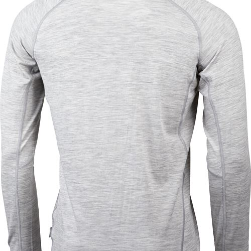 Gimmer Merino Lt Ms 1/2 Zip Light Grey