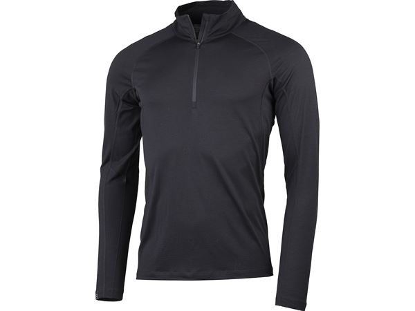Gimmer Merino Lt Ms 1/2 Zip Black