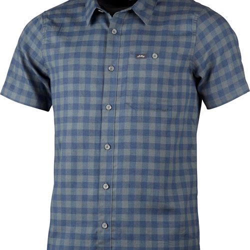 Ekren Ms SS Shirt Deep Blue