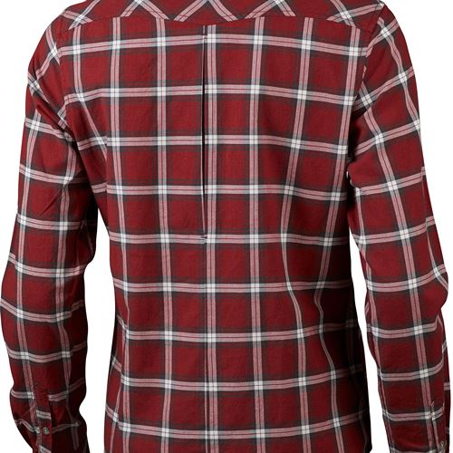Jaksa LS Ws Shirt Dark Red