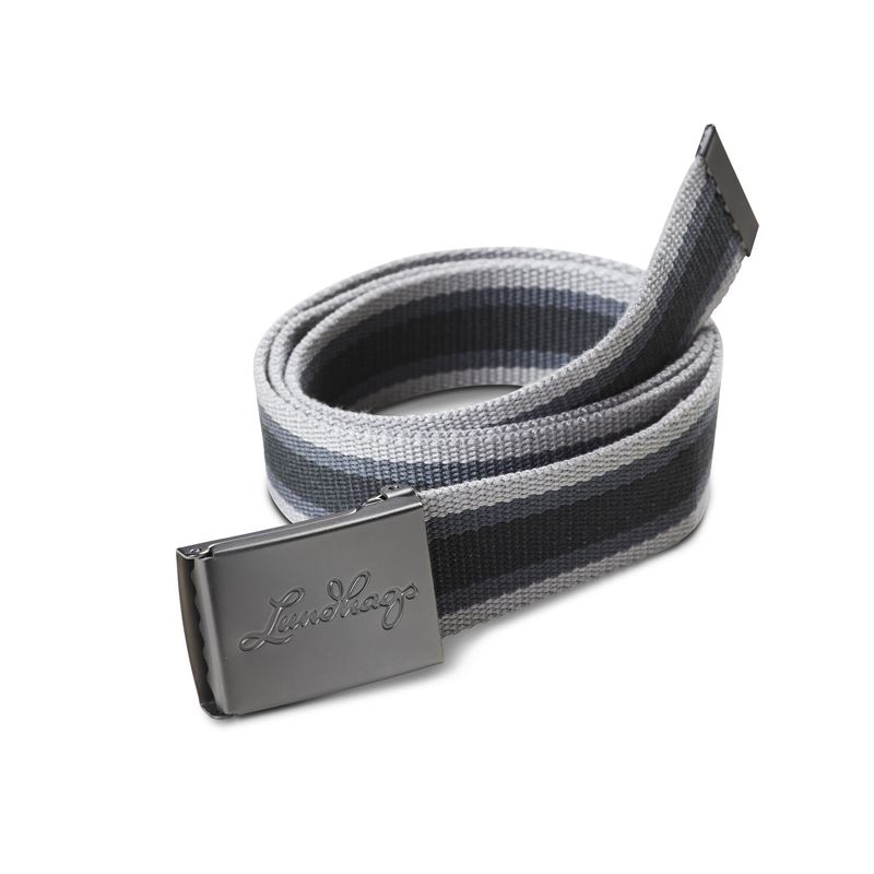 Lundhags Buckle Belt Charcoal