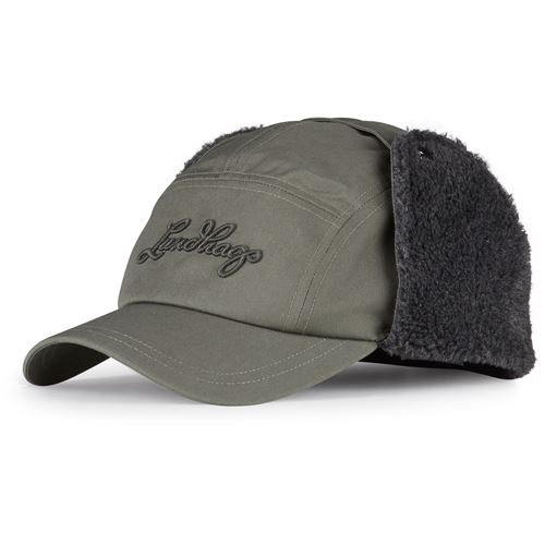 Habe Pile Trapper Hat Forest Green