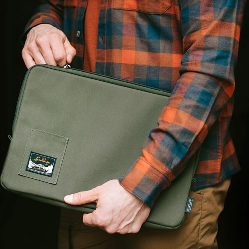 Laptop Case 15 Forest Green